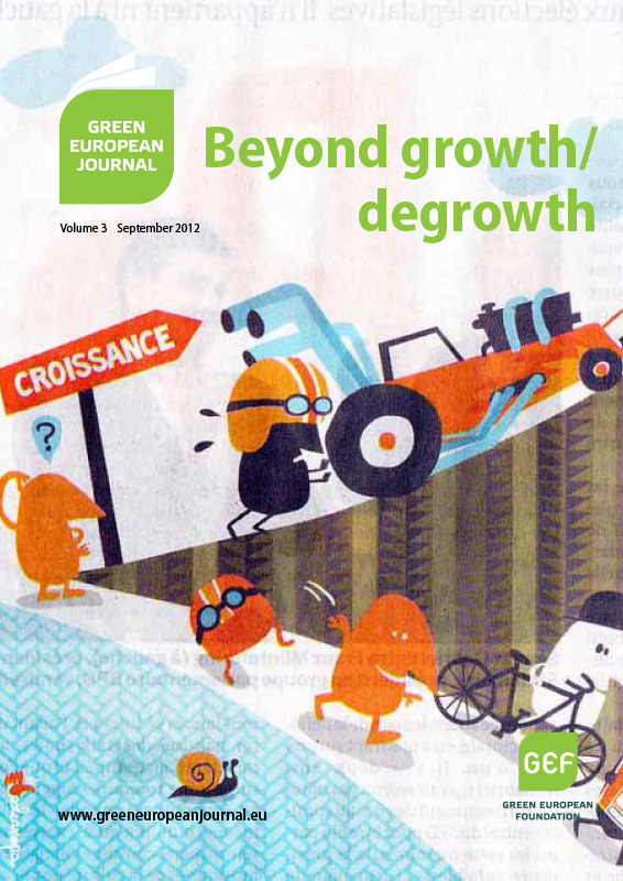 Green European Journal - Beyond Growth/Degrowth