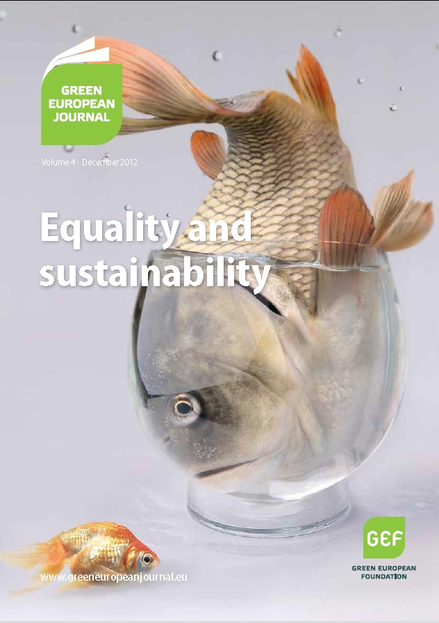 Green European Journal - Equality and Sustainability