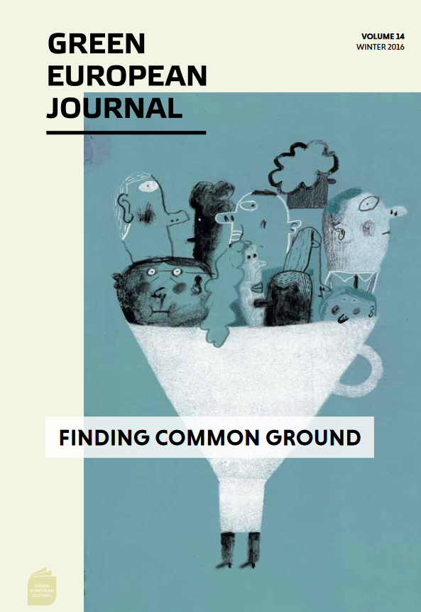 Green European Journal - Finding Common Ground