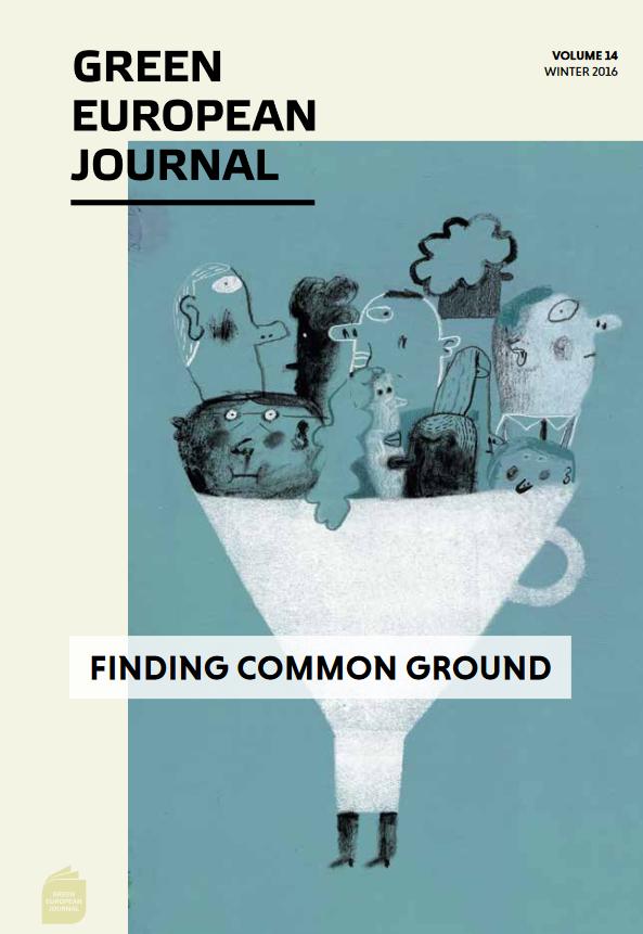Green European Journal - Finding Common Ground