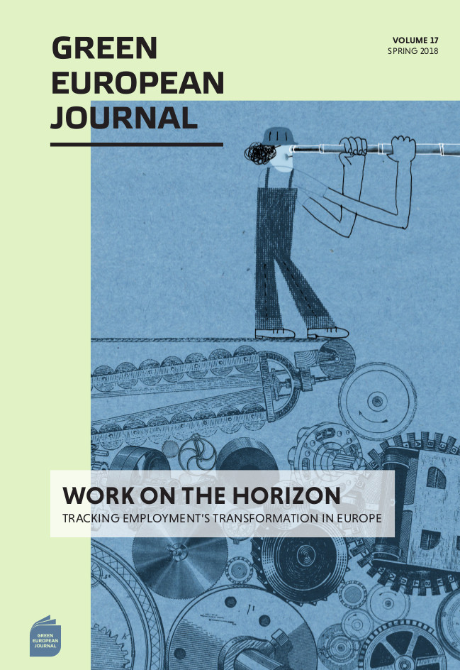 GEJ VOLUME 17 | WORK ON THE HORIZON:TRACKING EMPLOYMENT'S TRANSFORMATION IN EUROPE