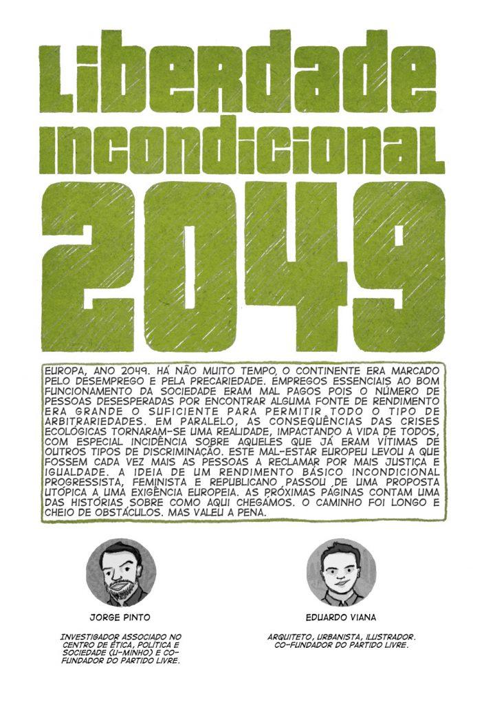 Uma história em quadrinhos de Jorge Pinto e Eduardo Viana. (página 1 de 10)