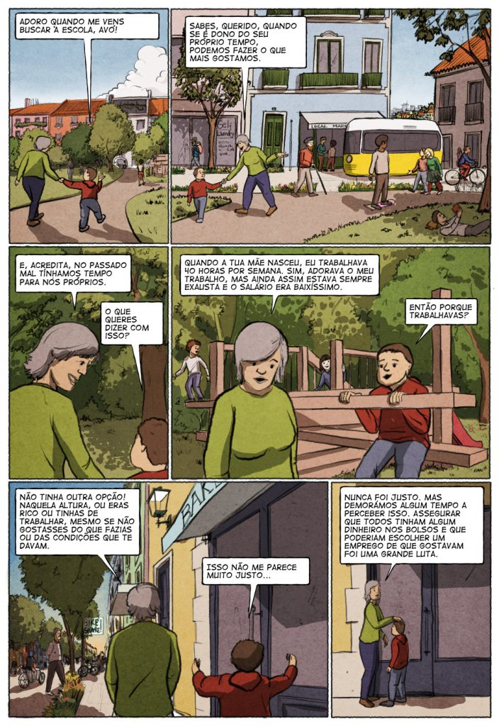 Uma história em quadrinhos de Jorge Pinto e Eduardo Viana. (página 2 de 10)