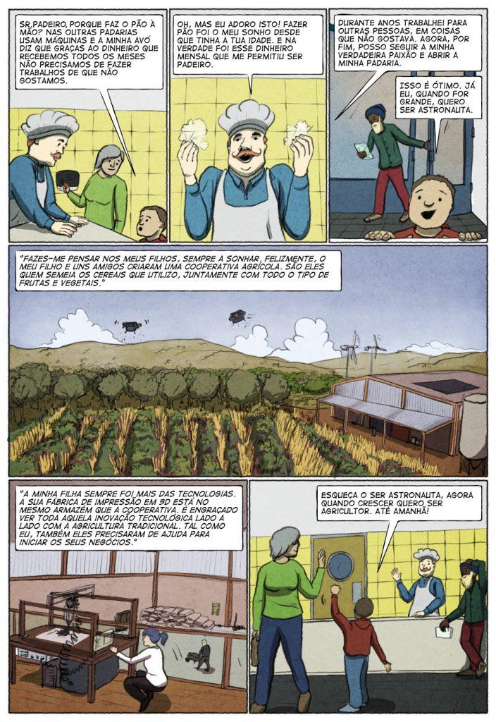 Uma história em quadrinhos de Jorge Pinto e Eduardo Viana. (página 3 de 10)