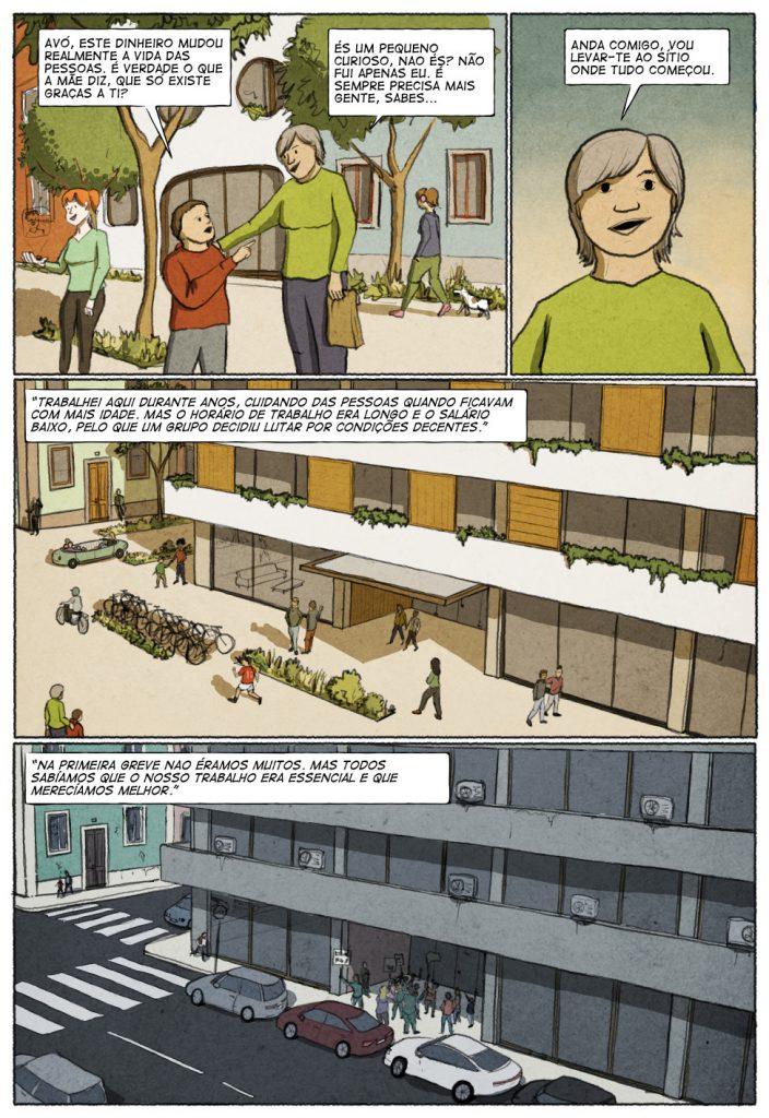 Uma história em quadrinhos de Jorge Pinto e Eduardo Viana. (página 4 de 10)
