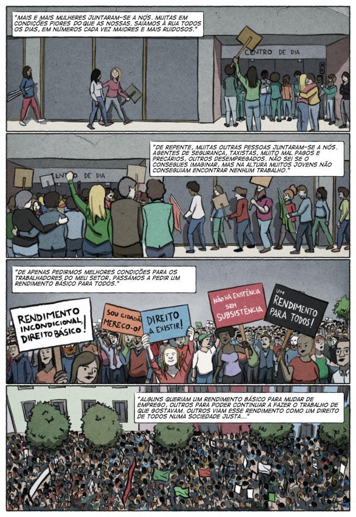 Uma história em quadrinhos de Jorge Pinto e Eduardo Viana. (página 5 de 10)