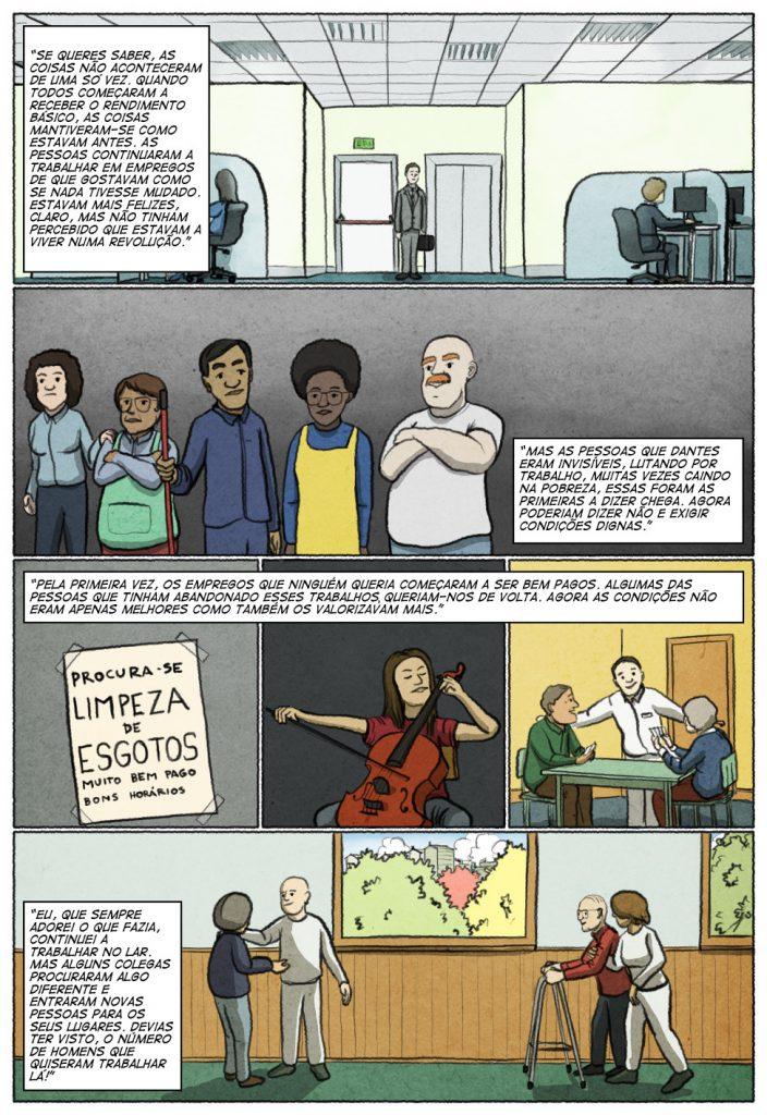 Uma história em quadrinhos de Jorge Pinto e Eduardo Viana. (página 8 de 10)
