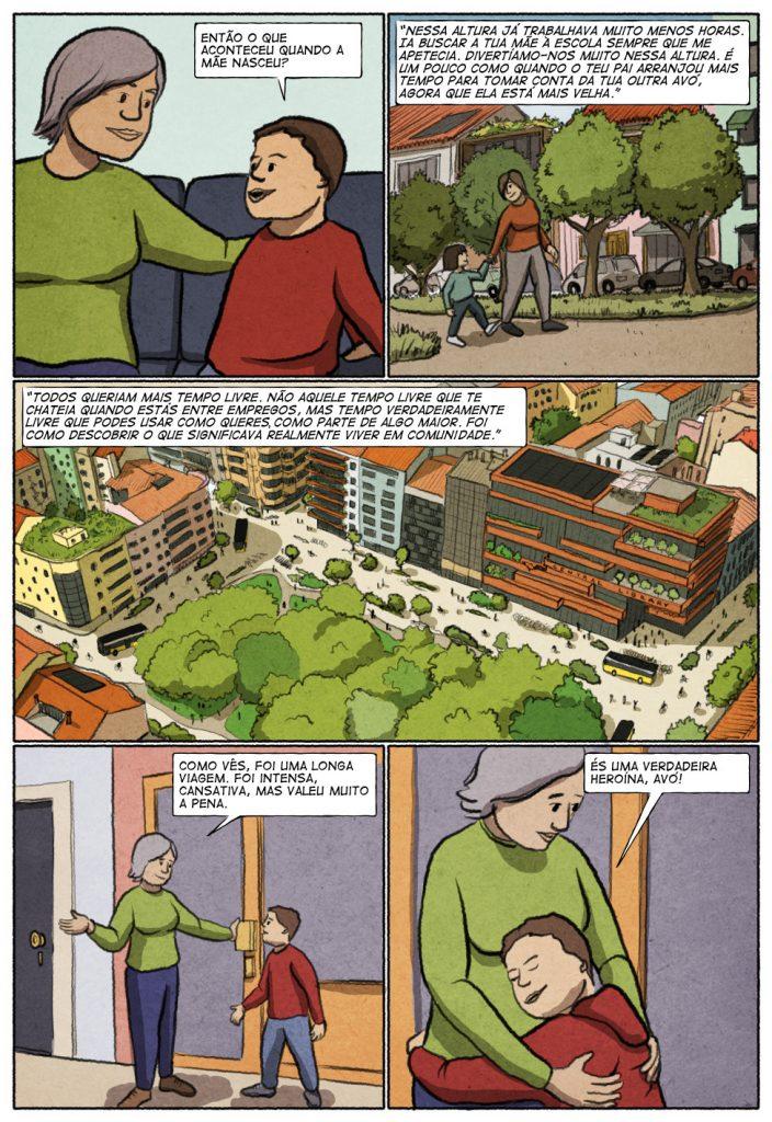 Uma história em quadrinhos de Jorge Pinto e Eduardo Viana. (página 9 de 10)
