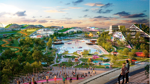 Overview of the EuropaCity project.